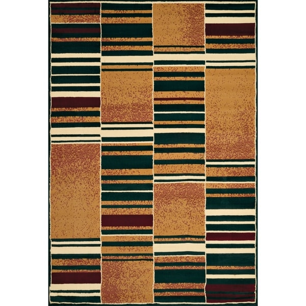 "Westfield Home Ulubre Remus Hunter Green Area Rug - 5'3"" x 7'6"""