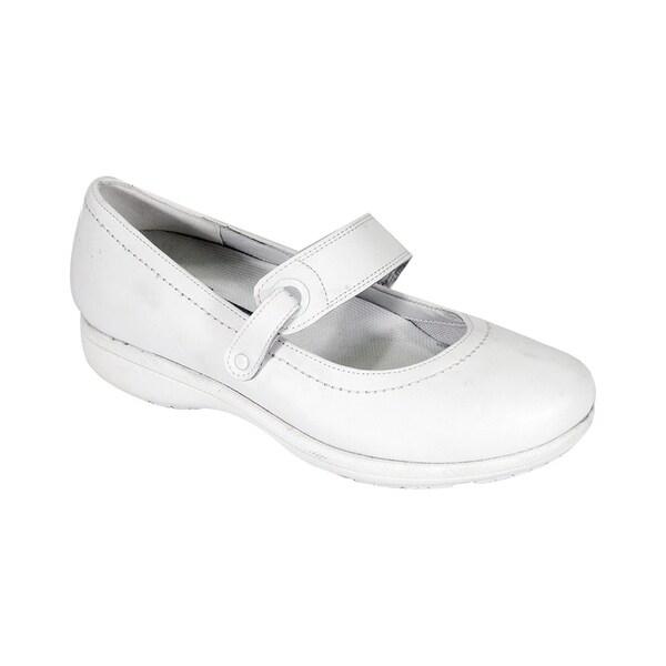 2772b34db649 24 HOUR COMFORT Kristi Women Extra Wide Width Adjustable MaryJane Shoe