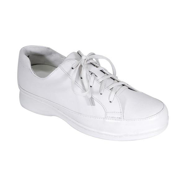 wide width canvas tennis shoes