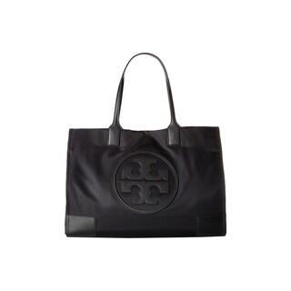 Tory Burch Ella Tote Black Tote Handbag