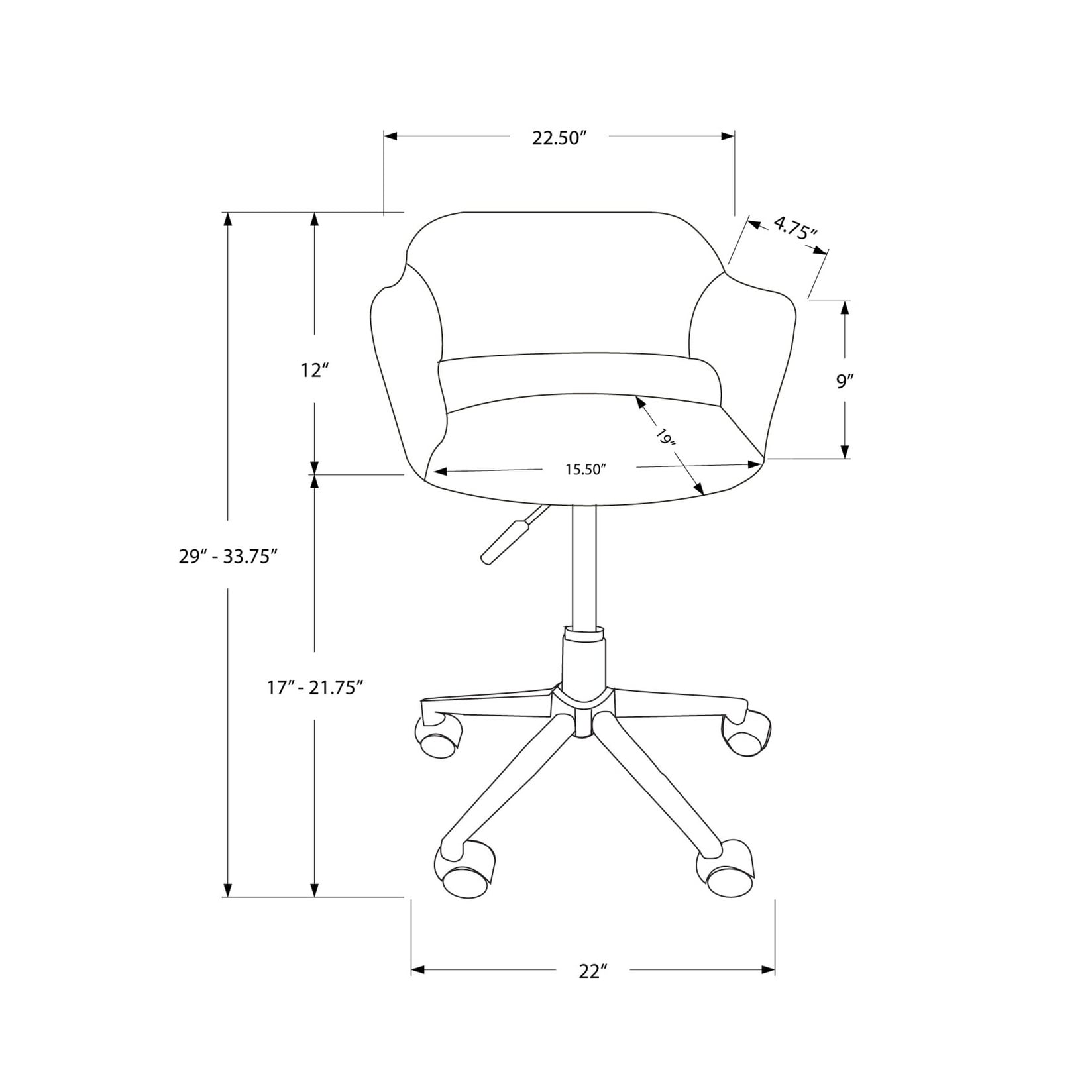 office chair hydraulic diagram shop office chair chrome metal hydraulic lift base on sale  chrome metal hydraulic lift base