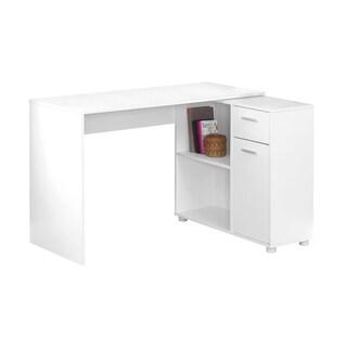 "Computer Desk - 46""L With Storage Cabinet"