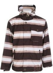 Sessions Flicker Men's Java Stripe Snowboard Jacket - Thumbnail 1