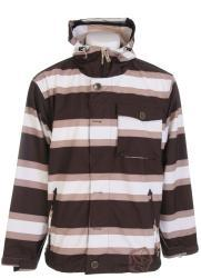 Sessions Flicker Men's Java Stripe Snowboard Jacket - Thumbnail 2