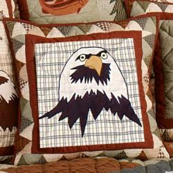 Mountain Whispers Eagle Throw Pillows (Set of 2)