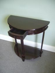 Mahogany Wood Console Table (Indonesia) - Thumbnail 1