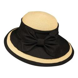 Women's Callanan CM175 Le Papillon Picture Brim Hat Black
