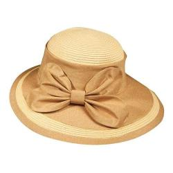 Women's Callanan CM175 Le Papillon Picture Brim Hat Tea
