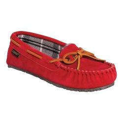 Women's Old Friend Kelly Slipper Red Leather