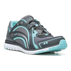 Women's Ryka Aries Walking Shoe Frost Grey/Aqua Sky/Iron Grey