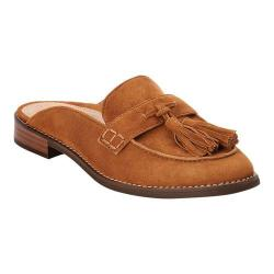 Women's Vionic with Orthaheel Technology Reagan Tassel Mule Caramel Suede