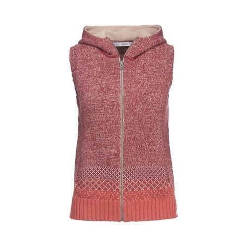 Women's Woolrich Tanglewood Hooded Sweater Vest Terracota - Free ...