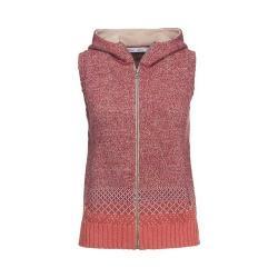 Women's Woolrich Tanglewood Hooded Sweater Vest Terracota