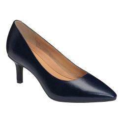 Women's Aerosoles Drama Club Pump Navy Leather (More options available)