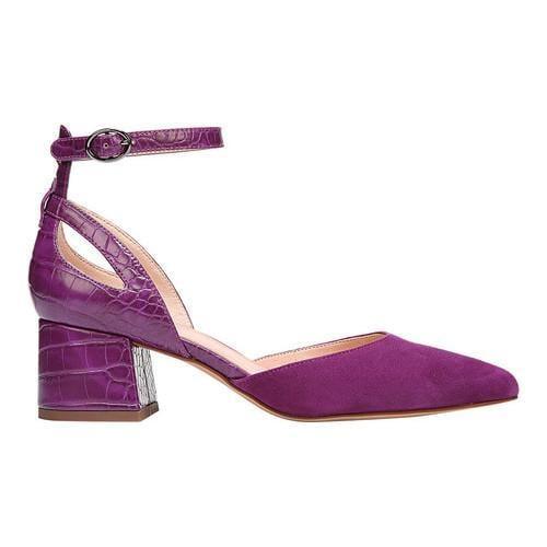 2af55b251da5 ... Thumbnail Women  x27 s Franco Sarto Caleigh Ankle Strap Sandal Grape  Diva Suede  ...