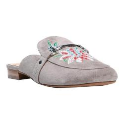 Women's Franco Sarto Dalton Mule Grey Kid Suede