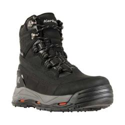 Men's Korkers Snowmageddon Boot with SnowTrac & IceTrac Soles Black