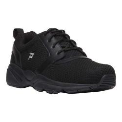 Men's Propet Stability X Walking Sneaker Black Mesh