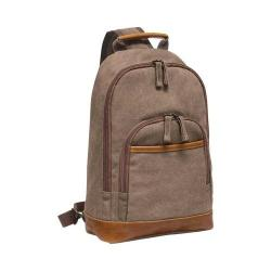 Preferred Nation P4651 Slim Sling Backpack Tan