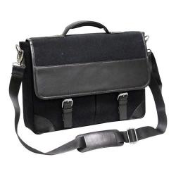 Preferred Nation P6232 Livingston Leather Briefcase Black