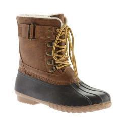 Women's Portland Boot Company Duck Duck Boot Mid Buckle Cognac