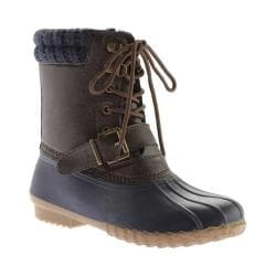 Women's Portland Boot Company Duck Duck Deluxe Boot Navy - Thumbnail 0
