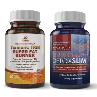 Turmeric Trim and Detox Slim Combo pack (2 options available)