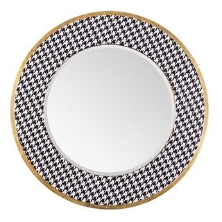 Azzezzi Gold Dust Round Mirror