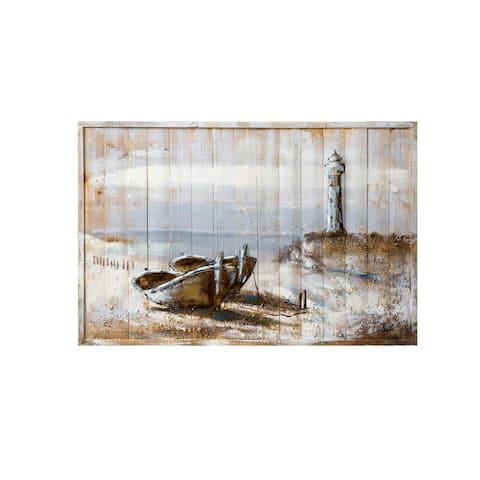 Tranquil Tropicals Zen Beach 3D Wall Art