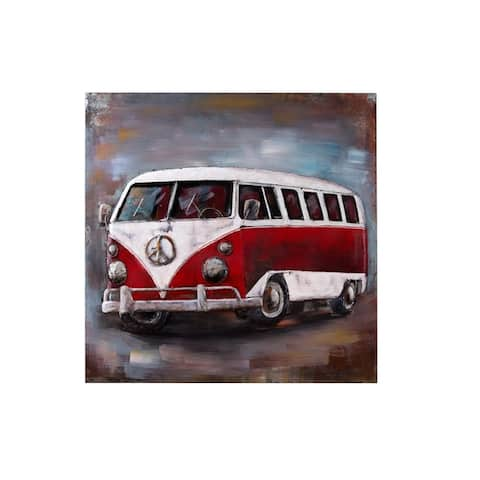 Retrograde Vanagon 3D Wall Art