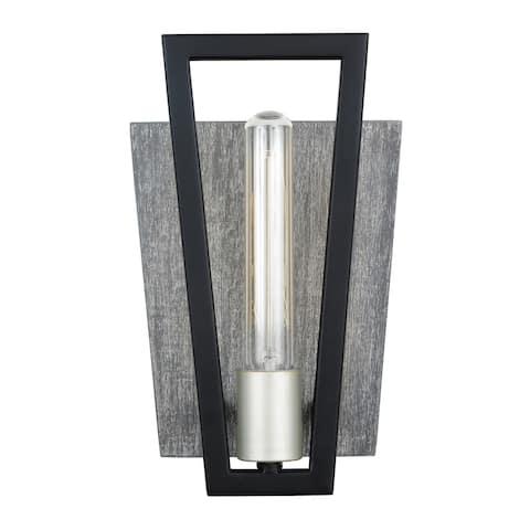Varaluz Zag 1-light Black, Silverado Wall Sconce
