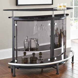 Amari Smokey Glass Bar Table by Greyson Living