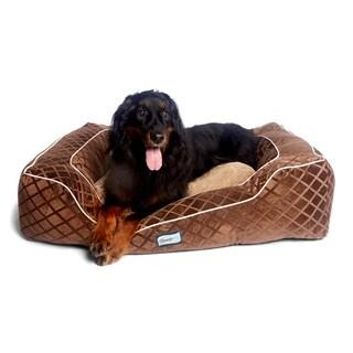 Beautyrest Super Lounger Orthopedic Memory Foam Dog Bed