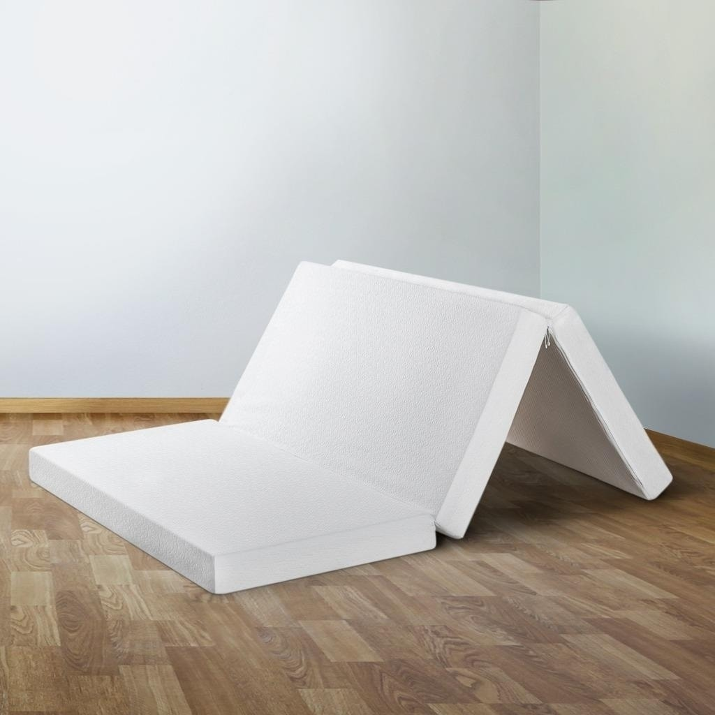 Tri Fold Mattress 4 Inch Memory Foam