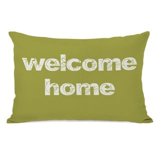 Welcome Home 14x20 Pillow by OBC
