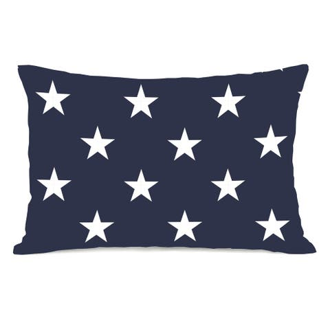Stars & Stripes Reversible 14x20 Pillow by OBC