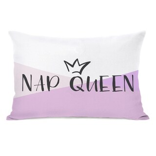 Nap Queen - Purple 14x20 Pillow by OBC