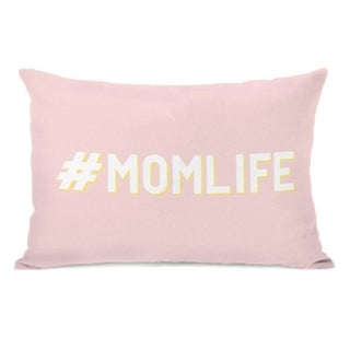 Hashtag Momlife - Pink 14x20 Pillow by OBC