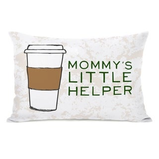 Mommy's Helper - Ivory Multi 14x20 Pillow by Pillow Talk