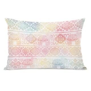 Boho Ele - Multi 14x20 Pillow by OBC