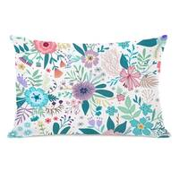 Amy Floral - Multi 14x20 Pillow by OBC