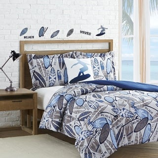 Surf Waves 4-piece Comforter Set (2 options available)