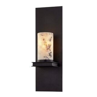 Troy Lighting Catalonia 1-light Textured Black Wall Sconce