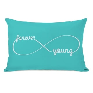 Infinite Forever Young 14x20 Pillow by OBC