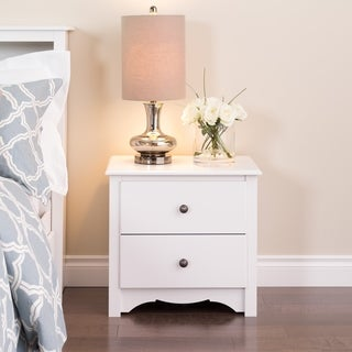 Winslow White 2-drawer Nightstand