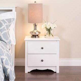 Laurel Creek Easton White 2-drawer Nightstand