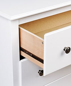 ... Winslow White 2 Drawer Armoire