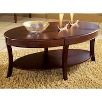 Copper Grove Angelina Oval Coffee Table