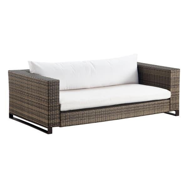 Fabulous Shop Tommy Hilfiger Oceanside Coastal Grey Wicker Outdoor Pabps2019 Chair Design Images Pabps2019Com