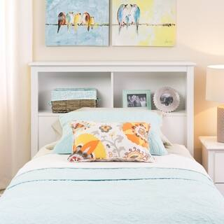 Winslow White Twin Bookcase Headboard|https://ak1.ostkcdn.com/images/products/2202219/P10468410.jpg?impolicy=medium